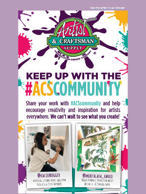 Check out what the #ACScommunity is up to!