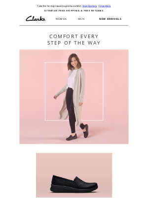 Clarks Shoes - The athleisure experience