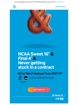 DIRECTV - Gear up for March Madness with AT&T TV.