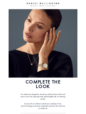 Daniel Wellington - Looking for your new everyday accessories?