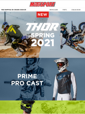 MotoSport - Fresh Arrival | Thor Spring 2021