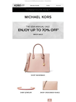 Michael Kors - This Sale Has Us Tickled Pink