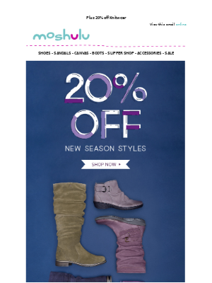 NEW Slouchy Boots | 20% Off Everything Autumn