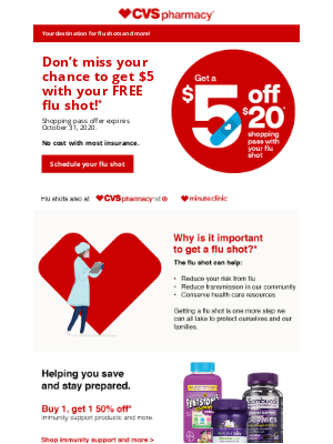 CVS Pharmacy - Hurry! This Offer Ends Soon!