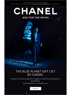 Chanel (UK) - The Blue Planet Gift List by CHANEL.