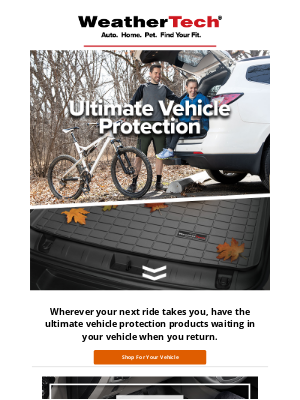WeatherTech - UnbeLEAFable Protection