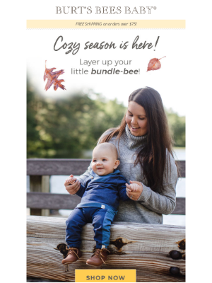 Burt's Bees Baby - Time to get your fall on! 🍂