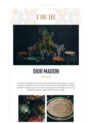 Dior UK - Prepare for Holiday Magic