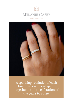 Melanie Casey - The ultimate anniversary ring!