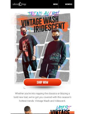 Culture Kings (AU) - Want some World Exclusive Vintage? 👉
