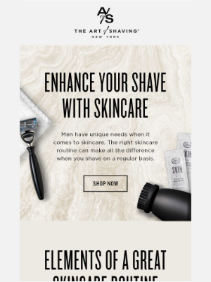 The Art of Shaving -  Charles, Learn How Skincare Can Change Your Shave