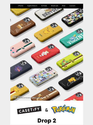 Selling Fast! CASETiFY & Pokémon: Drop 2