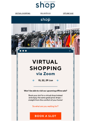 Style Theory (Singapore) - Heard about Remote Shopping? 💻