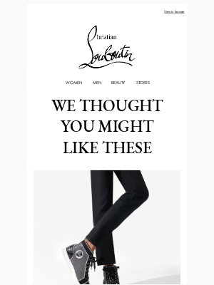 Christian Louboutin - Looking for something new?