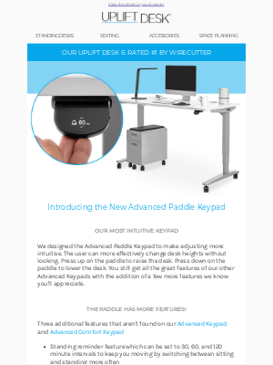 Uplift Desk - NEW Accessories and Desktop Care Guide