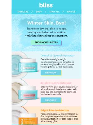 Bliss - Winter Skin, Bye!