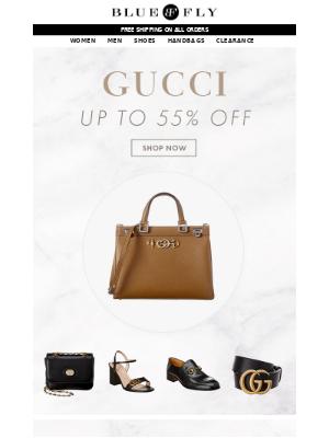 Bluefly - Gucci 55% Off   Prada 50% Off