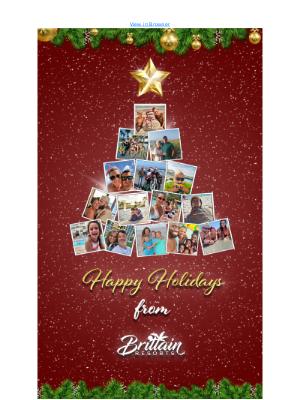Brittain Resorts & Hotels - Happy Holidays From Brittain Resorts!