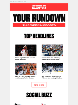 ESPN - Get your sports fix right here.
