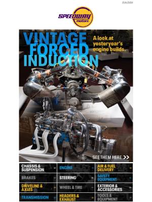 Speedway Motors - Vintage Turbos & Superchargers