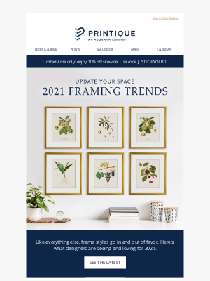 Printique - Top Framing Trends To Try This Year