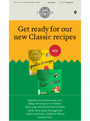 PizzaExpress (UK) - Sheila, we have new classic recipes for nights in