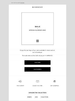 Givenchy -  Last chance - Shop the sale