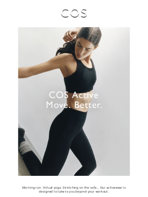 COS - COS Active: the new collection