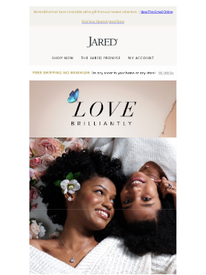 Jared - Find the perfect gift to celebrate your timeless love for Mom.