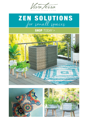 VivaTerra - Zen solutions for small spaces