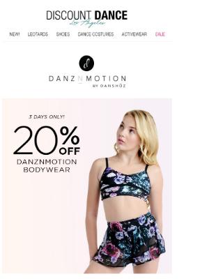 Discount Dance - Save 20% off Top Trending Bodywear!
