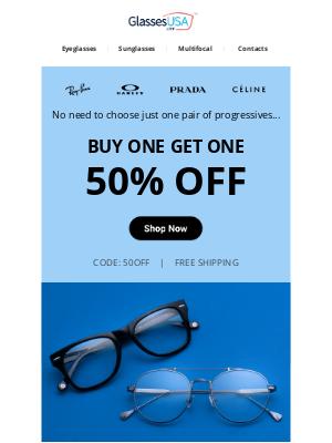 GlassesUSA - Who's ready for savings?! ✋✋✋