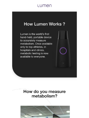 Lumen - The secret to your health might be a breath away