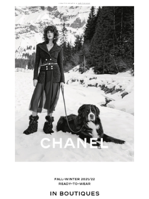 CHANEL - The CHANEL Fall-Winter 2021/22 Ready-to-Wear Collection