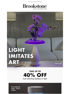 Brookstone - Up to 40% Off Innovative Lighting