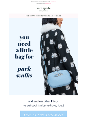 Kate Spade New York - a bag with infinite places to go
