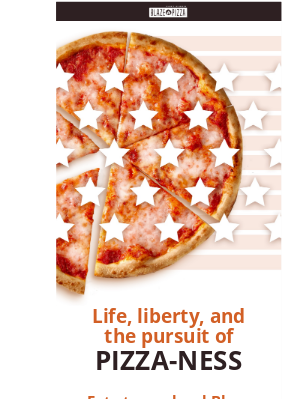 Blaze Pizza - It's red, white, and pizza this weekend. And 2X Flames 🔥🔥