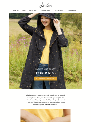 Joules (US) - Make rainy days wonderful in the Waybridge