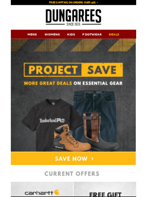 Dungarees - Sale Reminder: Project Save is Back