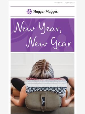 Hugger Mugger - New Year, New Gear -This Week, Enjoy 20% Off All Bolsters!