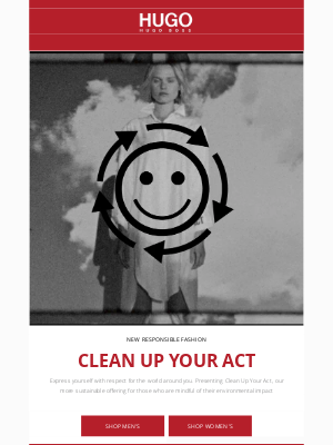HUGO BOSS - Presenting Clean Up Your Act