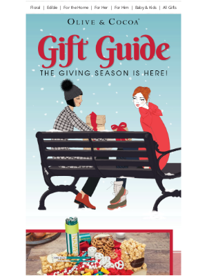 Olive & Cocoa - Your Holiday Gift Guide is Here!