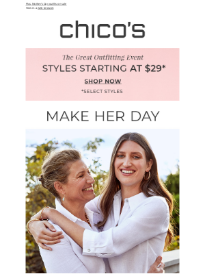 Chico's - Chic gifts for exceptional women
