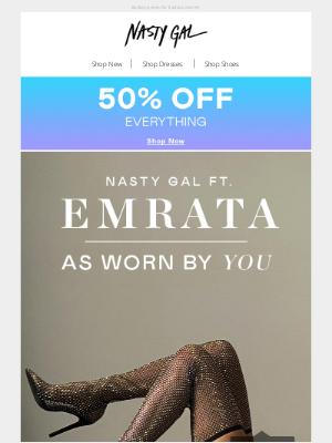 Nasty Gal (UK) - NG ft. Emrata: As Seen On You