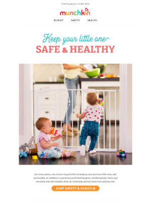 Munchkin - Keep Your Little One Safe & Healthy