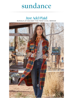 Sundance Catalog - These Outfits Are Plaid Perfection.