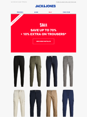 Jack & Jones - Find fresh trousers for the new year