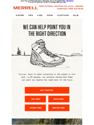 We'll Find the Right Hiking Boot for You