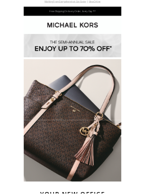 Michael Kors - Your On-The-Go Office