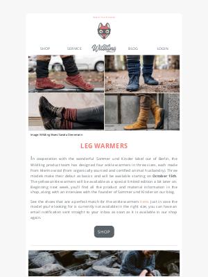Wildling Shoes - Hygge alert! Cuddly knitwear on the horizon